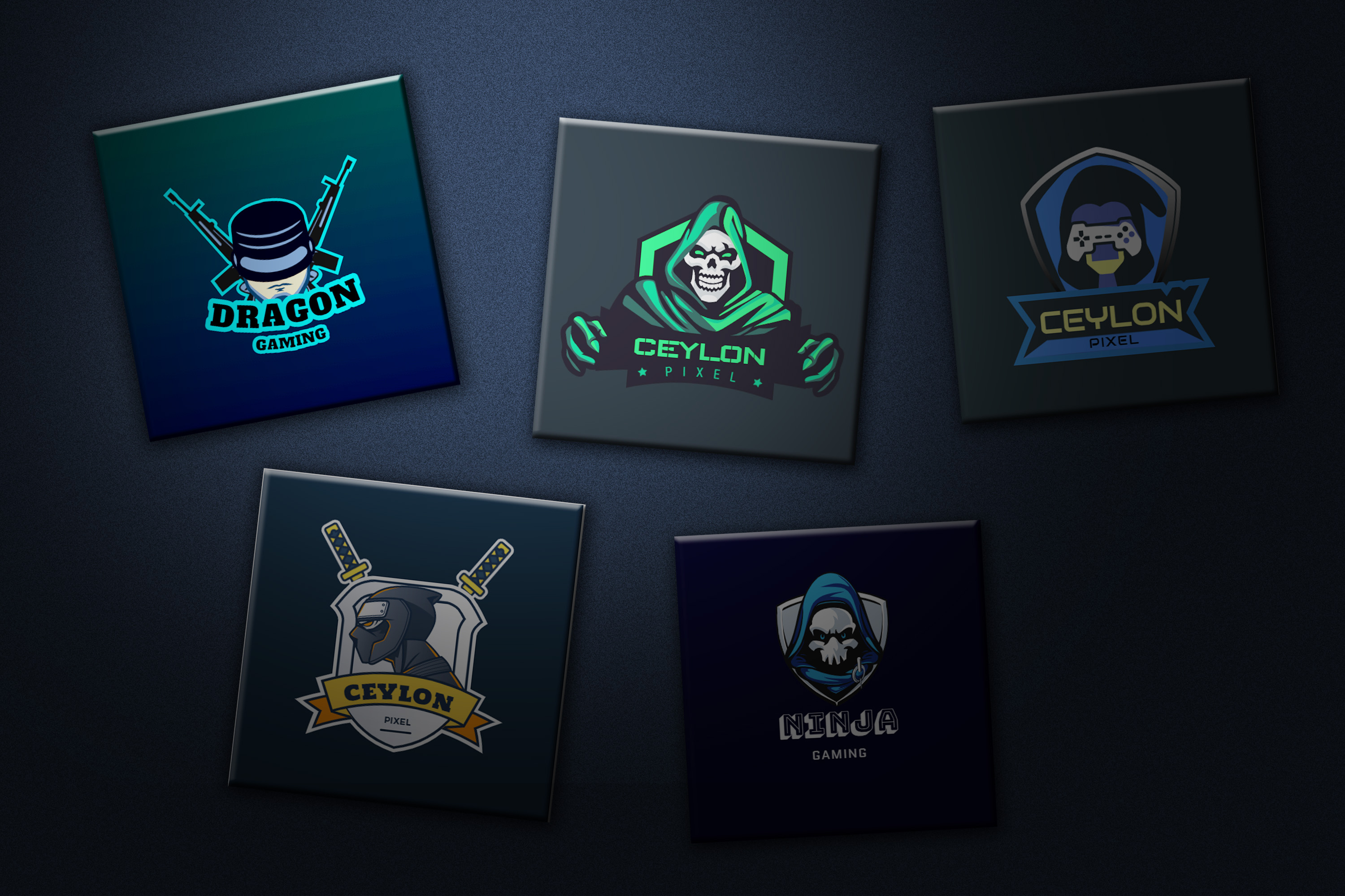 i will design unique mascot gaming logo for e sport,  twitch and youtube