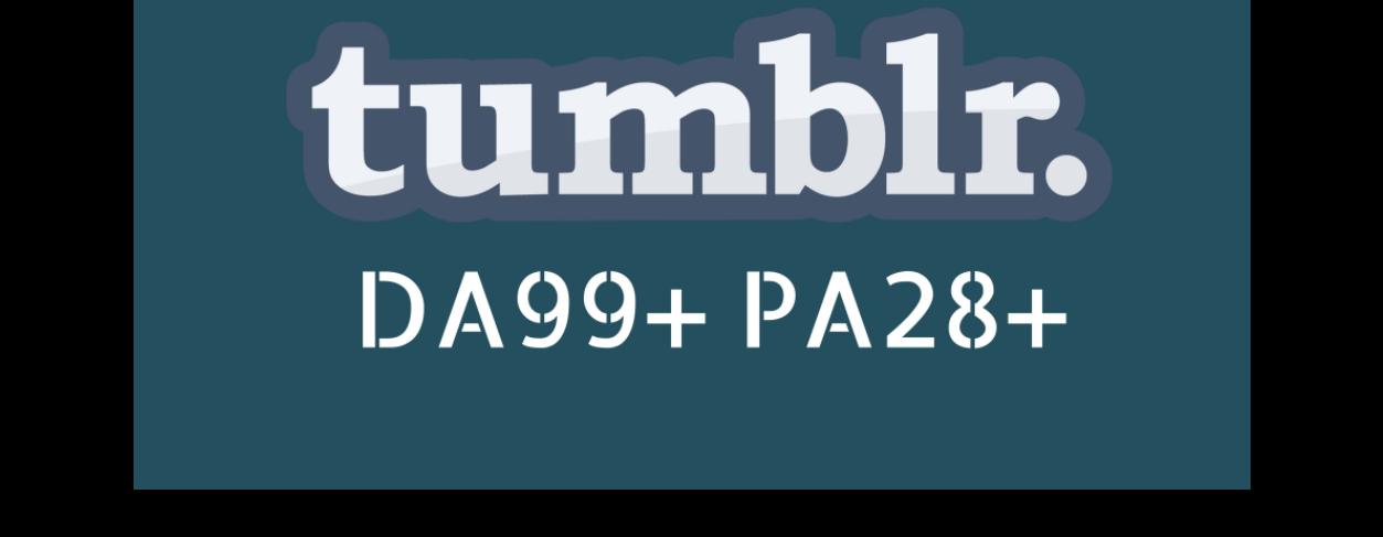 PBN 100 High DA98+ PA 28+ Tumblr Backlinks UK USA etc.