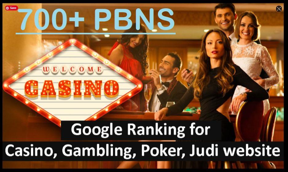 Manually PBN - 700+ Unique,  Strong Homepage PBNs for Casino,  Judibola,  Poker,  Gambling High Metric
