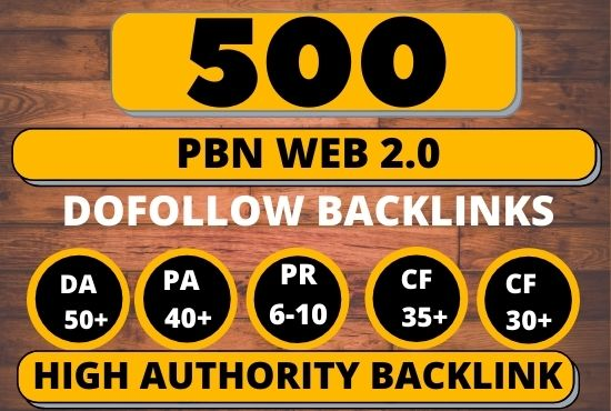 I Will Do 500 + Permanent Blog Post on aged expired web 2.0s blogs for your website/video/blog/page