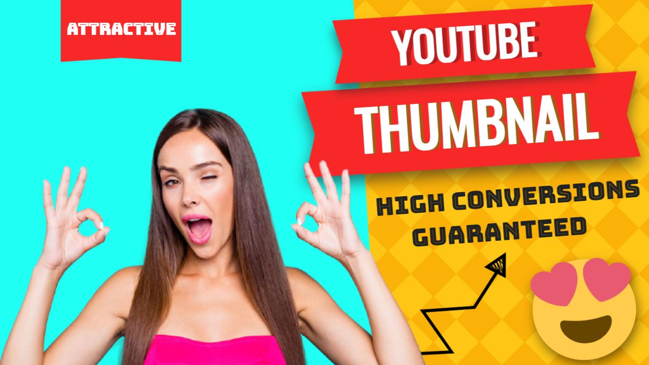 I will design 3x viral and custom youtube thumbnail super fast