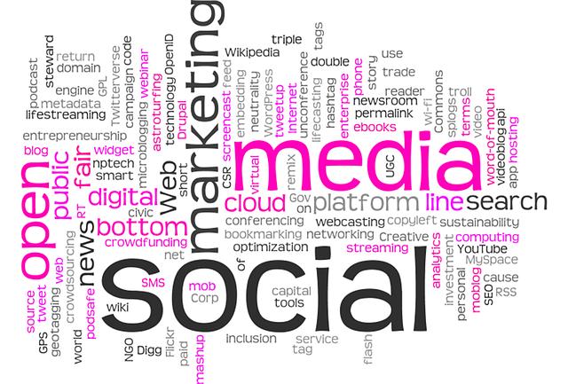 Social site sharer links widget, provide your site a sharing link to social media.