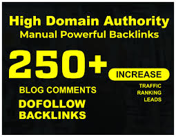 Manual & HQ 250+ Dofollow Blog comment Backlinks For Ranking