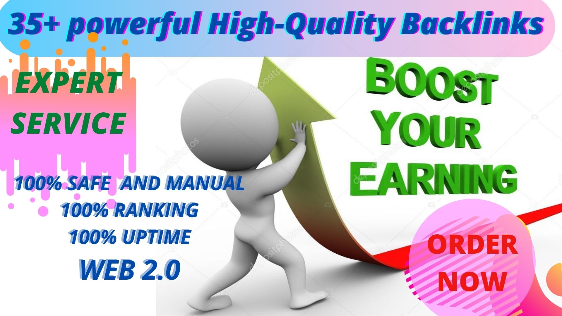 Get powerful 35+ pbn backlinks Letast update with high DA/PA on your homepage with unique website