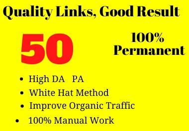 50 Social Profile backlinks for your Website