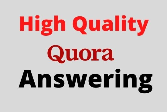 Promote your Website to increase traffic or sales with 20 Niche Quora Answers