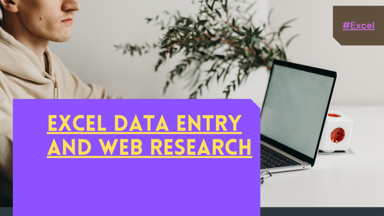 Data entry,  Typing,  Copy and paste work offered by amitkandel055