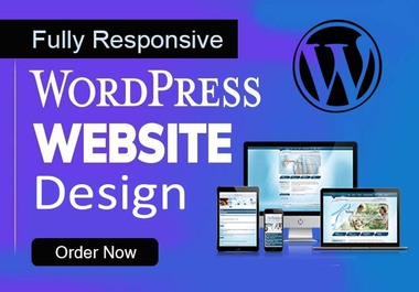 I will Design and customization WordPress website fully responsive and SEO friendly or landing page