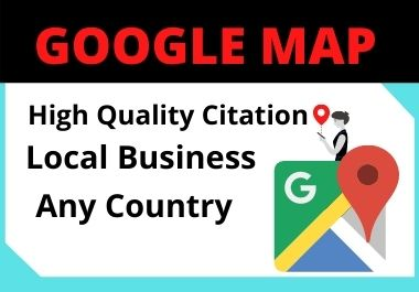 150 Google Maps Citation for local seo must rank your google business page
