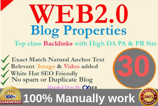 15 manual web2 0 super buffer blog high authority backlinks