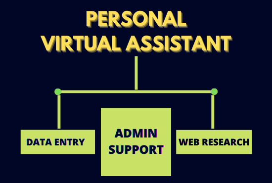 virtual assistant data entry web research