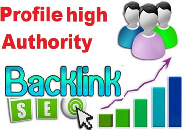 I will create 500 profile backlinks for rank your website