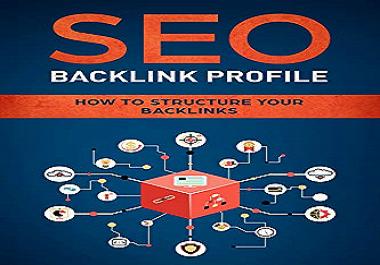 I will build 100 profile backlinks from manually high DA/PA