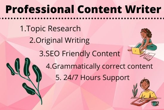 I will write 1500 word SEO blog posts,  articles,  and website content