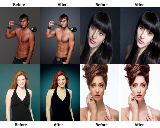 I will do photo editing or photo retouching