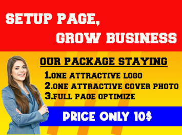 I Will Create and Optimize Facebook Page and setup page all setting
