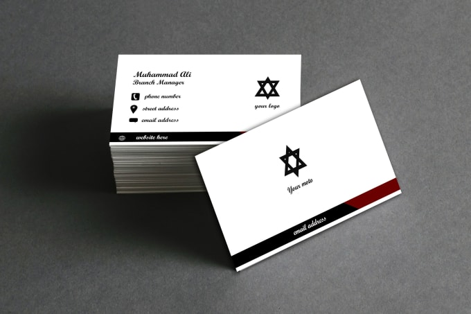 I will create unique business cards for you