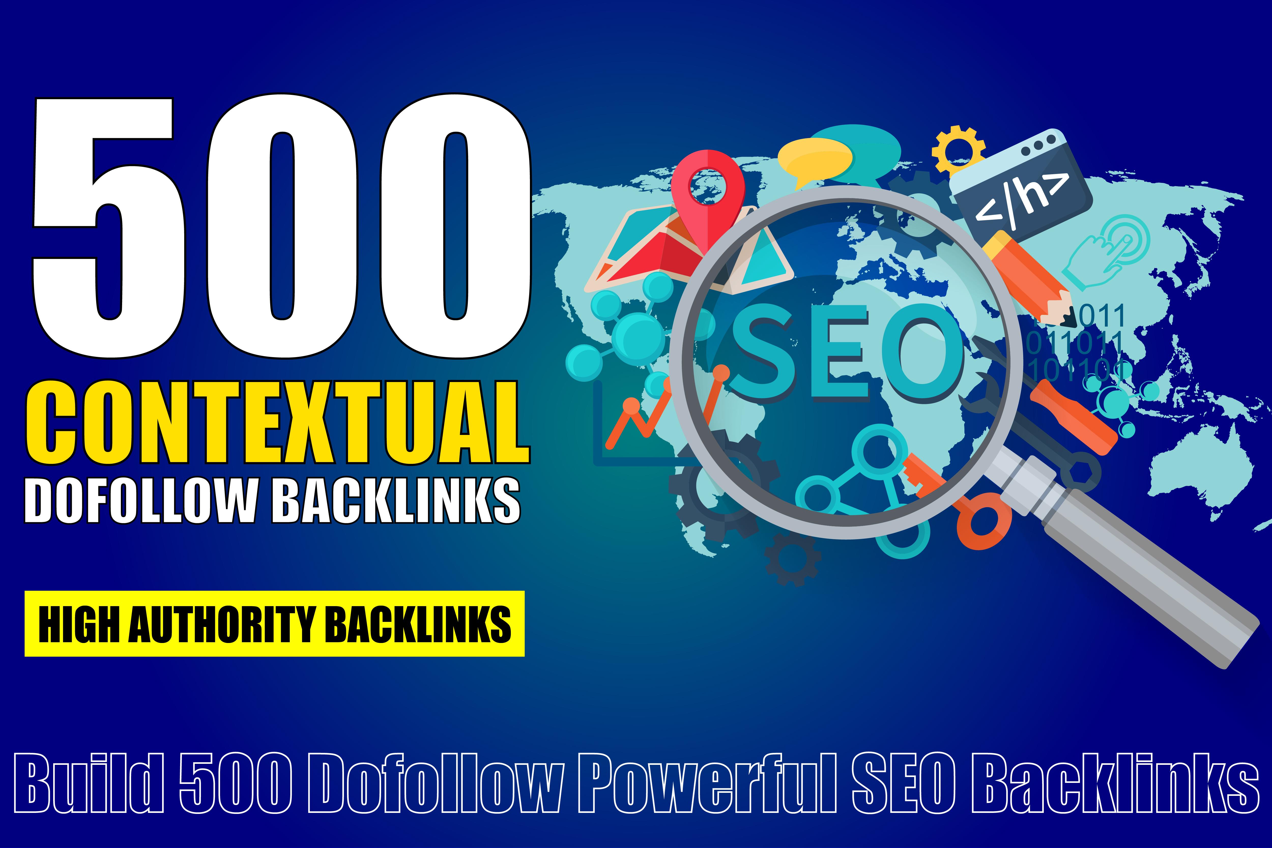 500 Dofollow Powerful SEO Backlinks