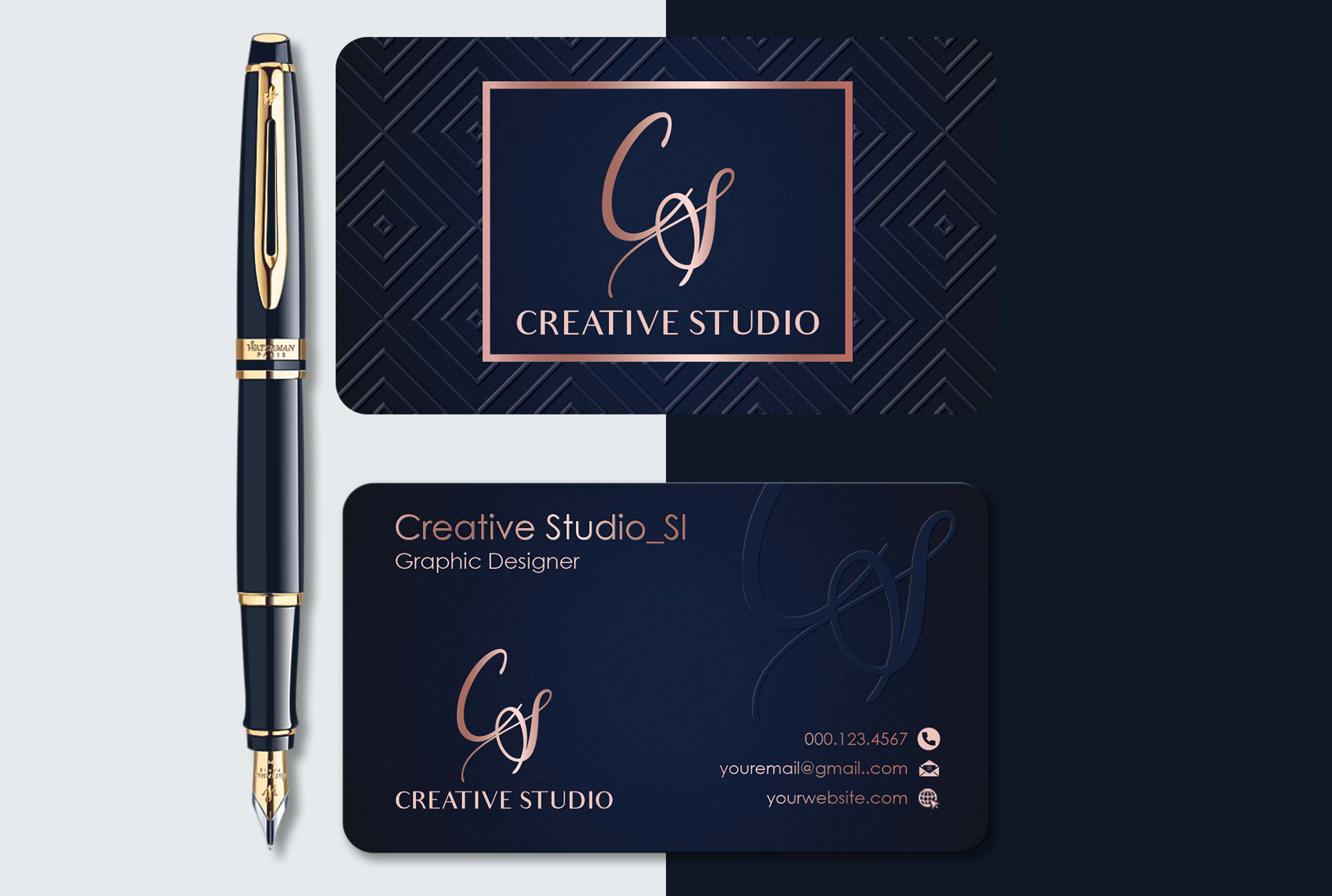 I will provide professional business cards design services