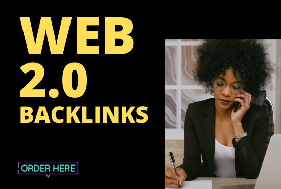 Provide 60 Premium web 2.0 Backlinks Manually