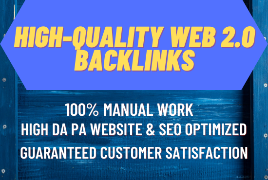 Create 70 High Quality Web 2.0 Profile Backlinks for Homepage SEO