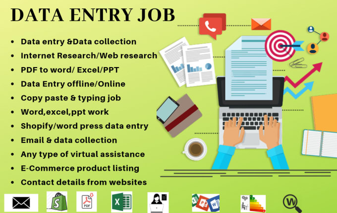 I am Professional Data Entry i have Six Years Experience in Typing Work