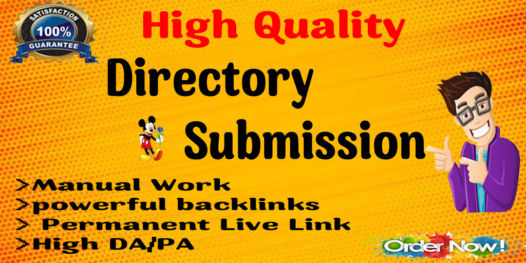 I will do 60 High quality Directory submission