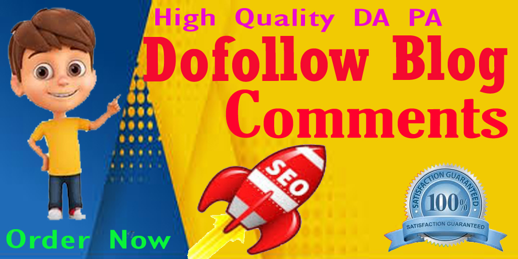 Build High Quality 60 Dofollow Blog Comments SEO backlinks