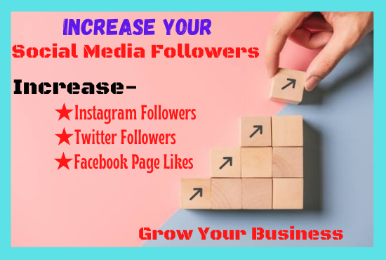 Increase Social Media Follower Organically And Growth Your Business