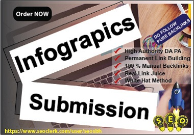 Post 10 Info-graphic Submission High Authority Manual Do Follow BackLinks