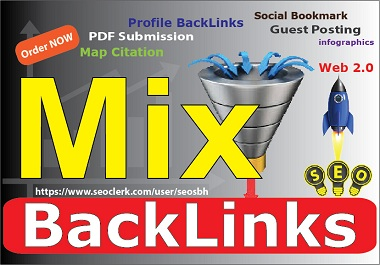 Do 80 Mixed BackLinks High Authority DA White Hat Do Follow Manual Pure Link building For BOOST Site