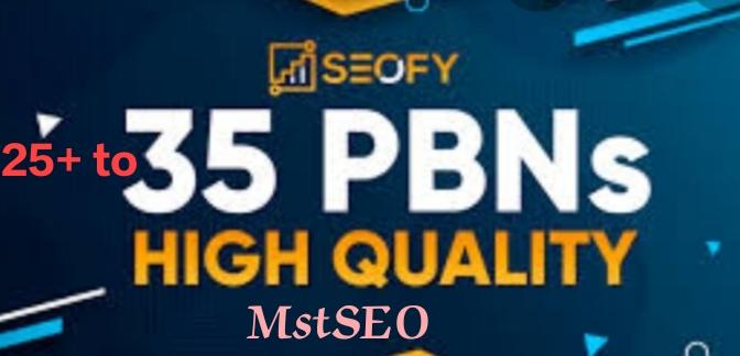 We provide High quality 35pbn links
