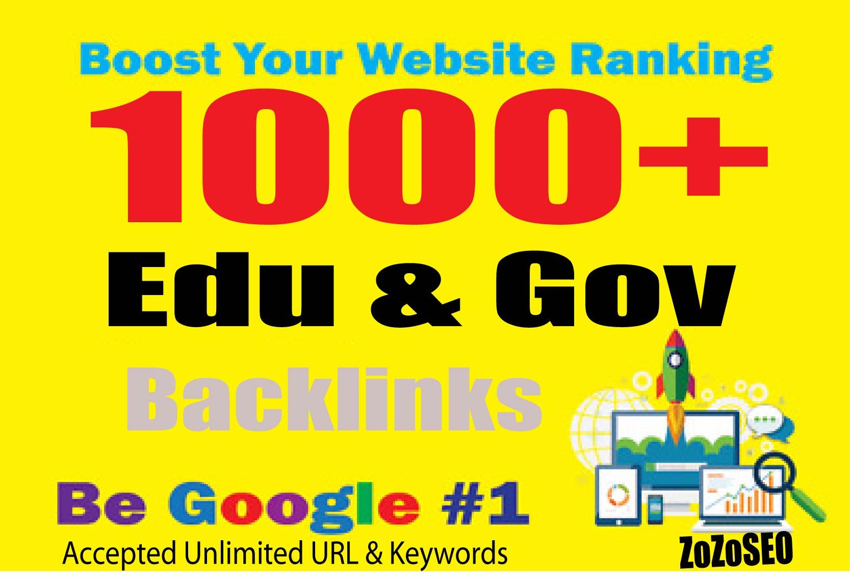 1000+ Edu & Gov Backlinks For Increase Your Ranking