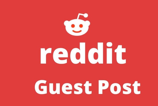 promote 3 Unique High Quality reddit guest post With Your Keyword & URL