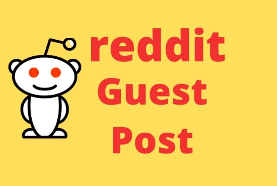 I will promote 10 Unique High Quality reddit guest post With Your Keyword & URL