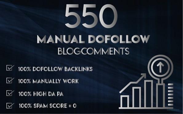 I will 550 Blog Comments Panda & Penguin Safe Backlinks High Quality