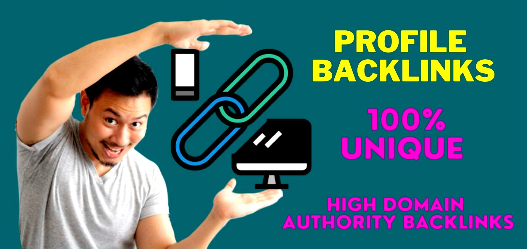 I will make 30 high quality, high Domin Authority Dofollow Backlinks for off page SEO services