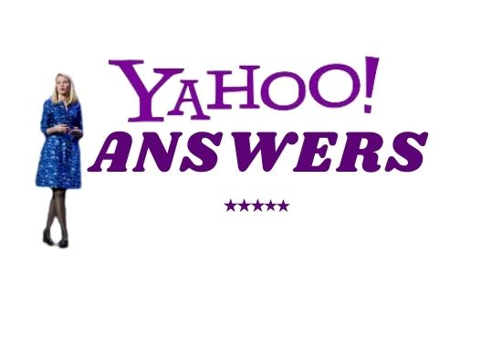 I will promote your website with 10 HQ massive Yahoo answers back-link