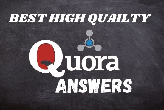 I will promote your website with 5 HQ massive Quora answers