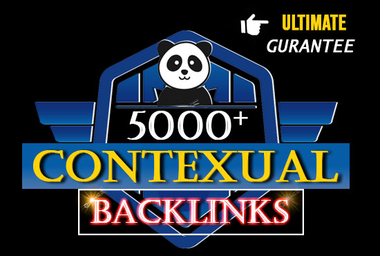 5000+ contexual backlinks for landing on google 1 st page