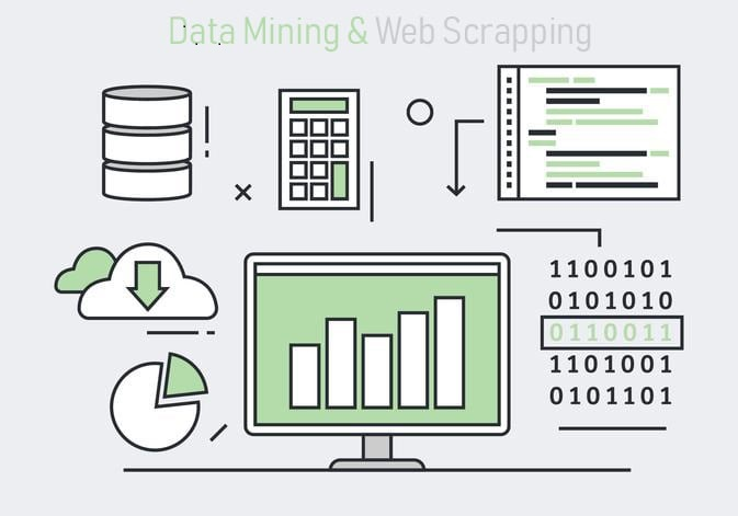 I will do Data scrapping,  Data mining,  Data collection, Google map scraping