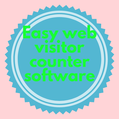 Easy web visitor counter software for web marketing