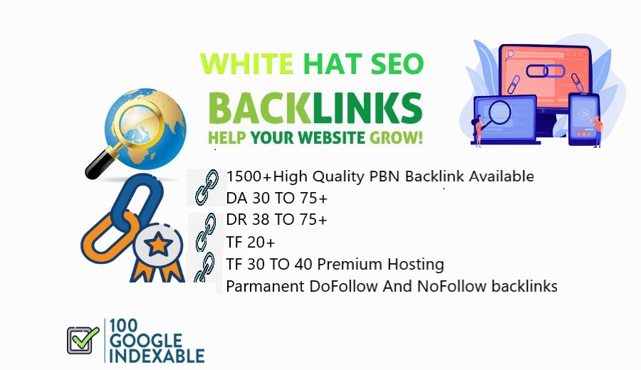 1500+High Quality PBN Backlinks Available