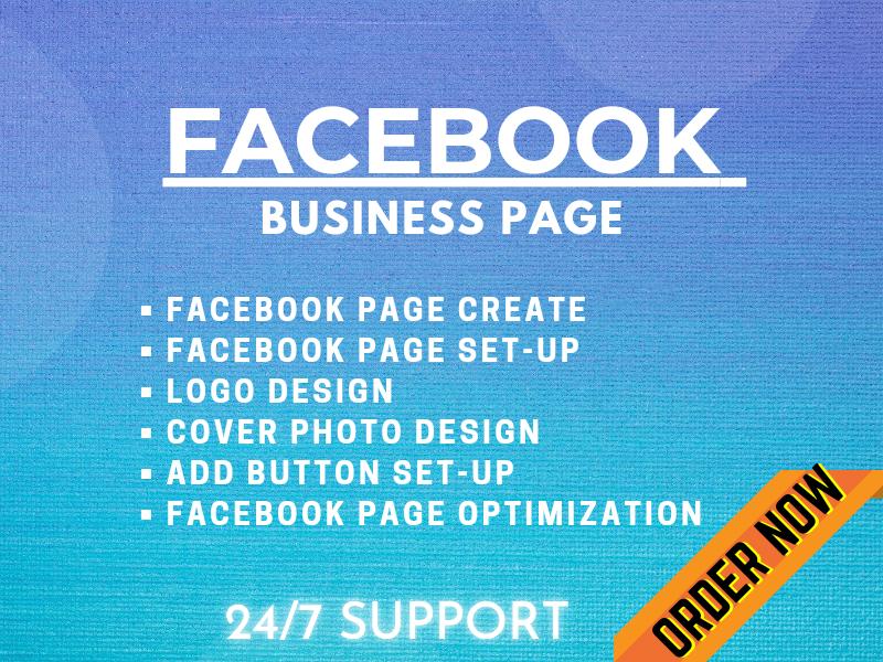 I will Create Facebook Business Page, Setup & Optimization
