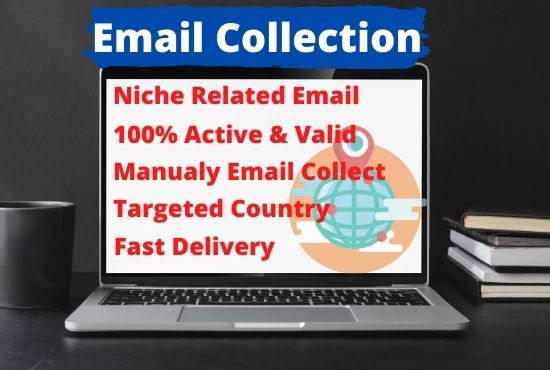 I will collect niche targeted 5000 email list for any location