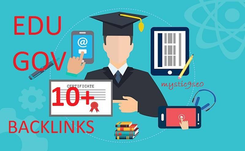 Create manual 10 USA Based EDU/GOV High Authority SEO Backlinks