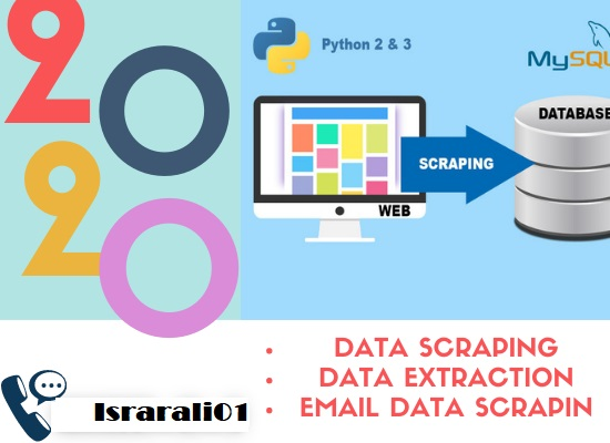 I will do Web Scraper,  Web Scraping,  data mining,  data extraction