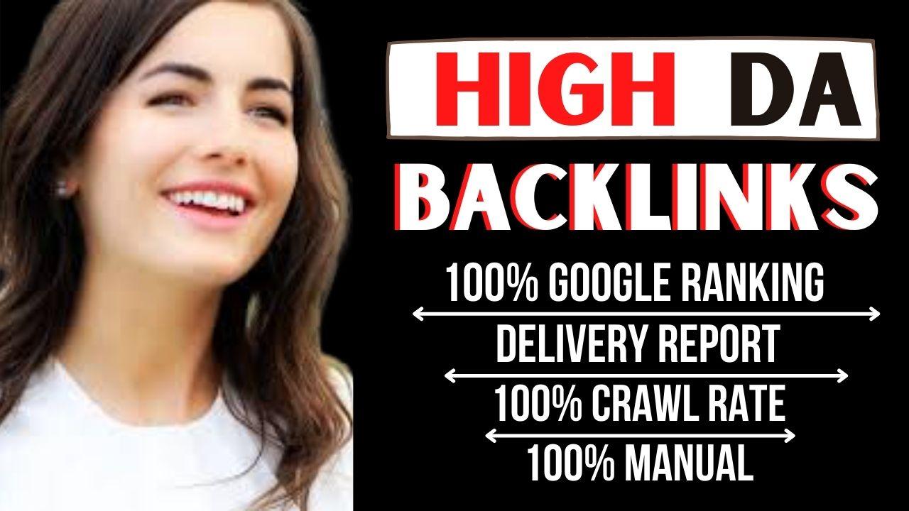 manually create 100 high da domain authority seo dofollow backlinks for fast ranking