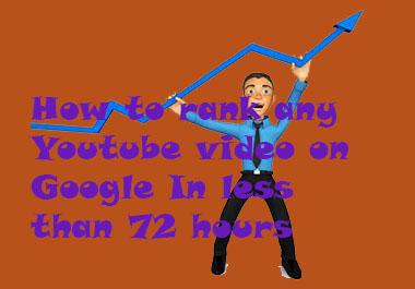Youtube Video Jacker rank any youtube video in 3 days