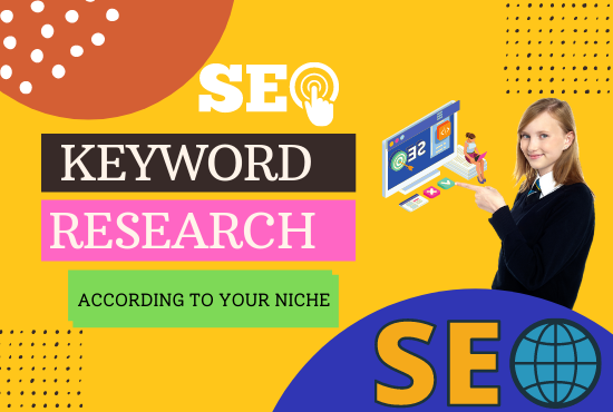 I will find low competition,  profitable keywords research for you